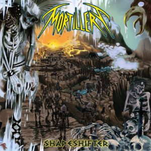 Mortillery – Shapeshifter album cover