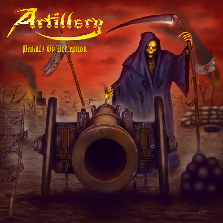 Artillery – Penalty by Perception album cover
